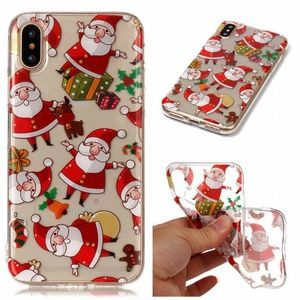 Accessories - NEW iPhone 7/8 Falling Santas Case